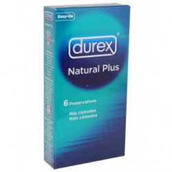 NATURAL PLUS 6 UNID DUREX...