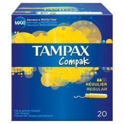 TAMPONES TAMPAX COMPAK...