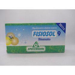 FISIOSOL 09 BISMUTO 20 AMP