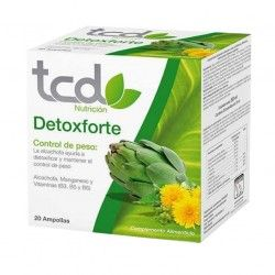 TCD DETOX FORTE 20 AMPOLLAS
