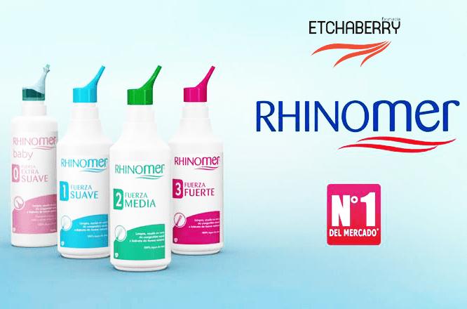 ¿Congestión nasal? ¡Alíviala con Rhinomer!
